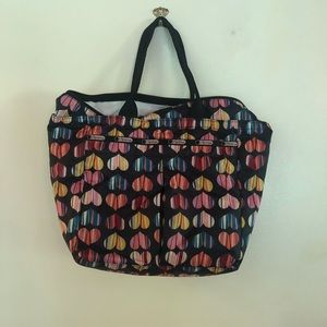 LeSportsac EveryGirl Tote with heart detail